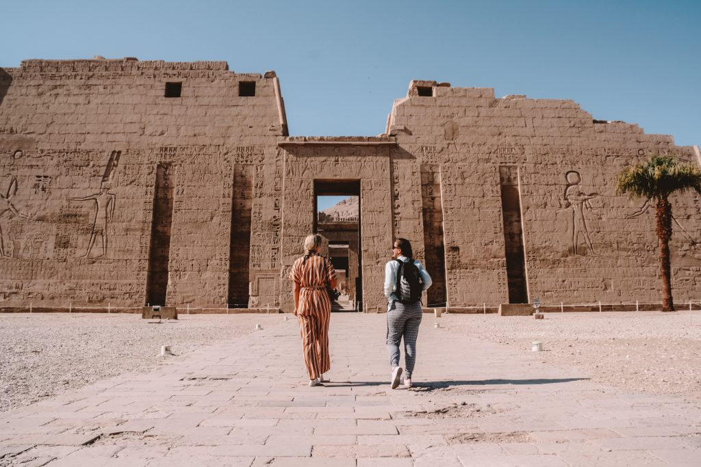 Luxor | Medinet Habu Temple | Egypt Egypt The Orange Backpack