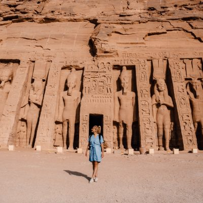 Abu Simbel | Ramses II | Egypt | Egypte | The Orange Backpack