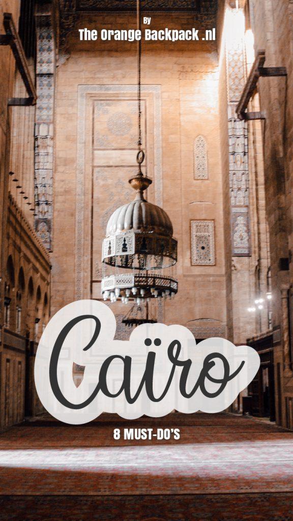 8 highlights in Cairo in Egypte door The Orange Backpack