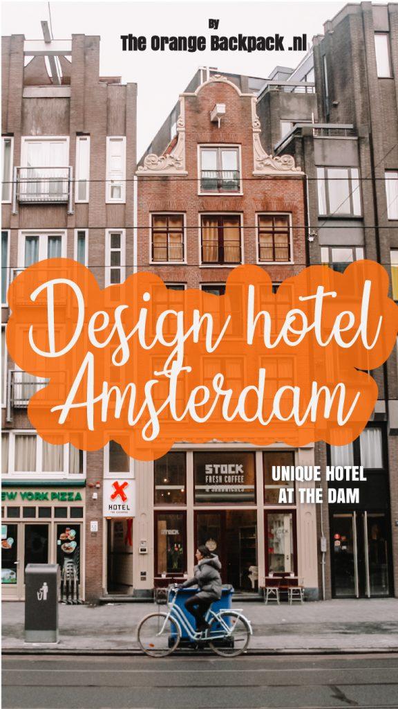 Exchange Hotel Amsterdam design hotel op de Dam