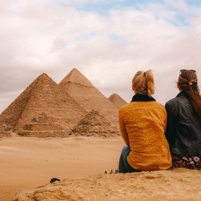 Cairo | Pyramids, Giza | Piramides, Gizeh | Egypt | Egypte | The Orange Backpack