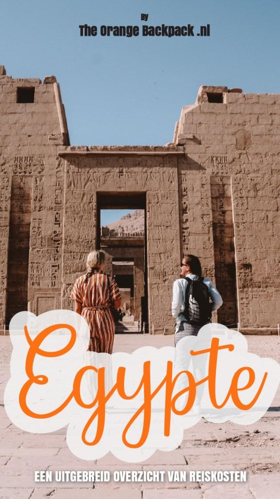 Reisbudget en reiskosten voor Egypte door The Orange Backpack