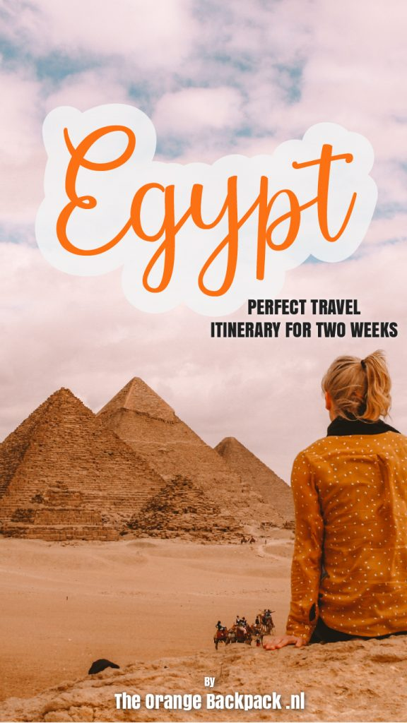 Ultimate travel itinerary for Egypt by The Orange Backpack