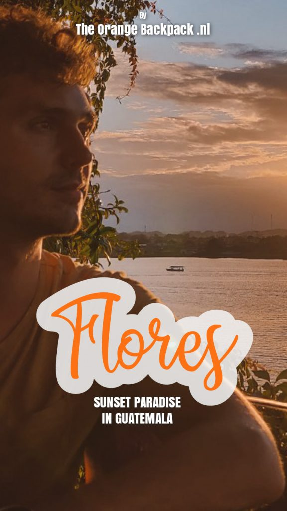 Flores Island in Guatemala by The Orange Backpack