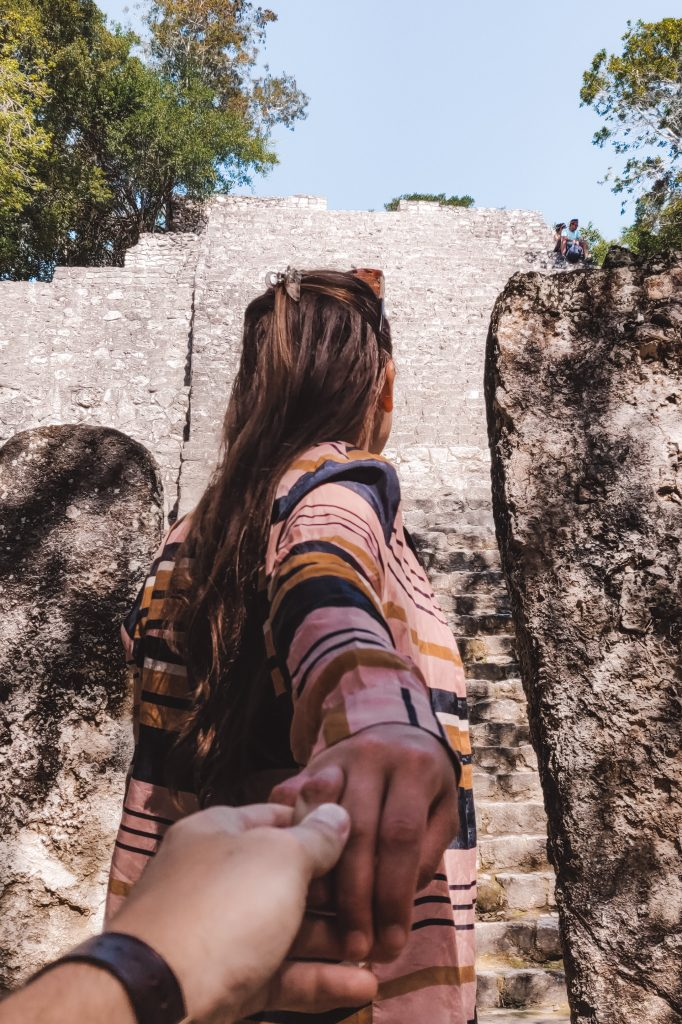 Calakmul in Yucatan, Mexico   Maya tempels   The Orange Backpack