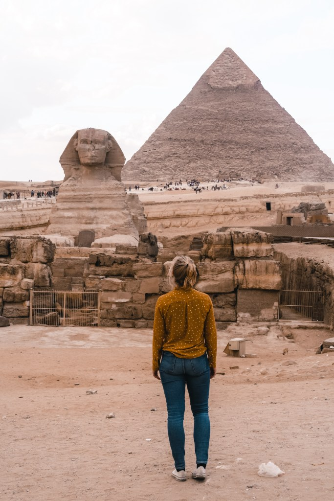 Sphinx | Pyramids of Giza | pyramids of Giza | Egypt | Egypt | The Orange Backpack