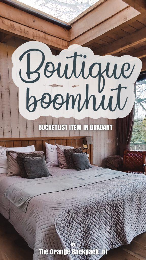 Boutique boomhut in Brabant