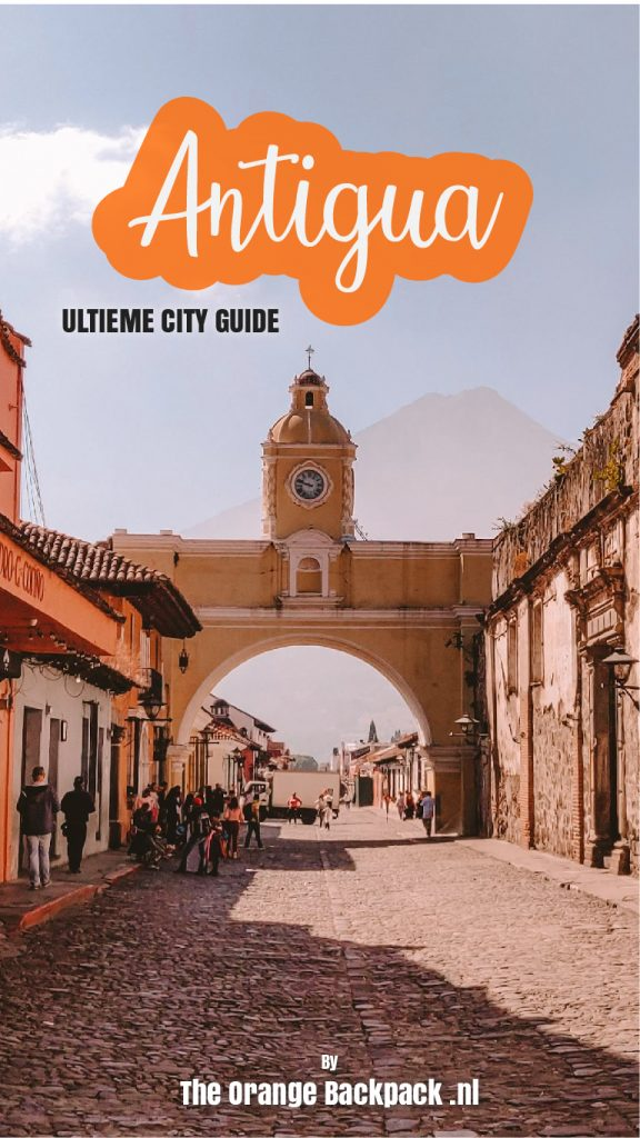 City guide Antigua round trip Guatemala