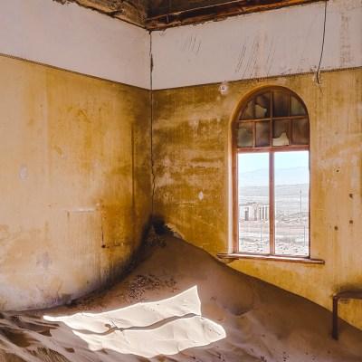 Ghost town Kolmanskop in Namibia