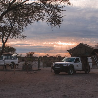 Kamperen in Etosha National Park in Namibie | Camping in Etosha National Park Namibia