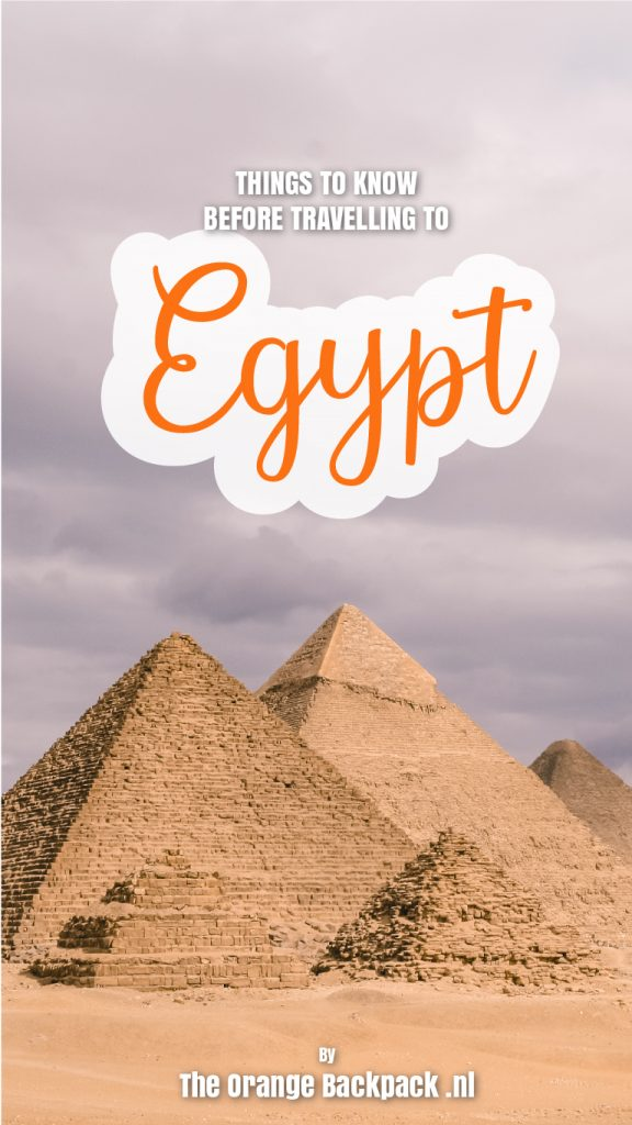 Tips travel preparations Egypt by The Orange Backpack