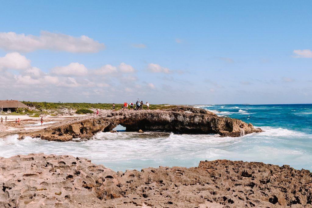 rock arch Cozumel   round trip Yucatan Mexico