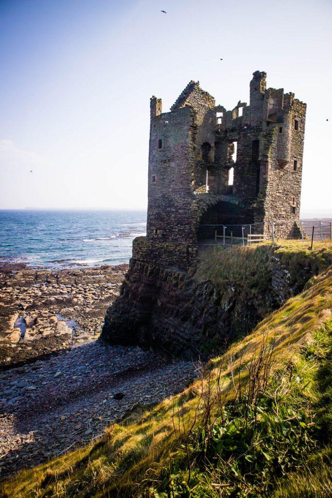 Europa Road Trip Schotland Old Keiss Castle - Foto door Kathi Kamleitner, Watch Me See