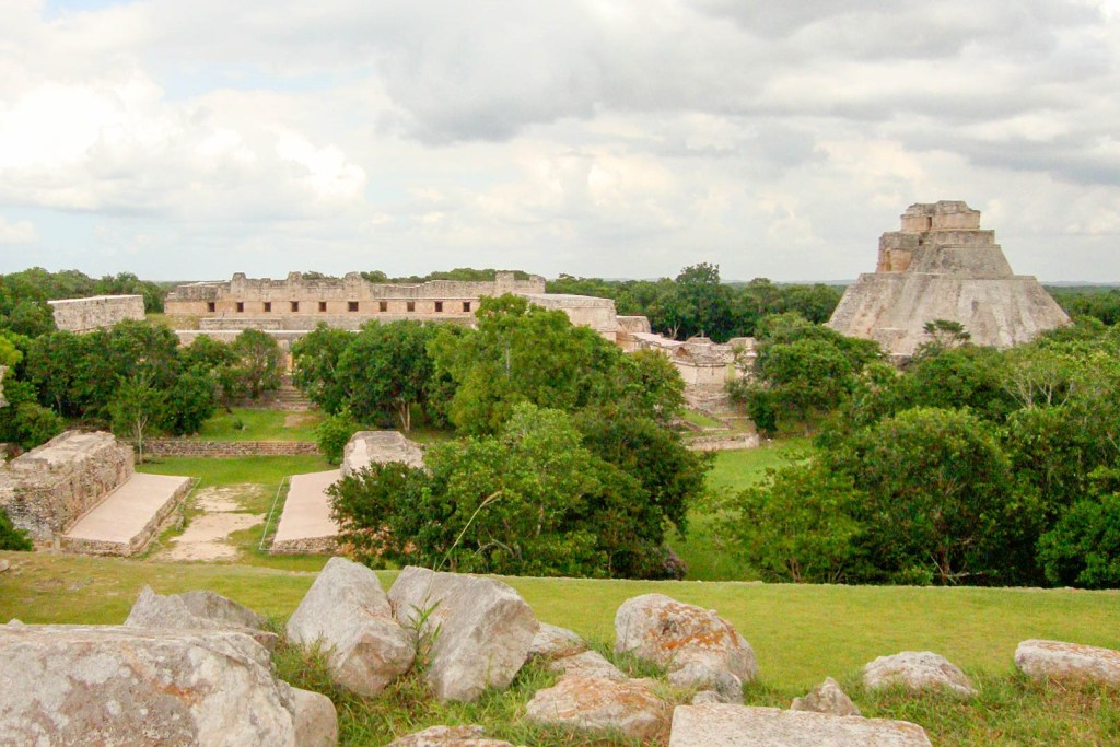 Lost city Uxmal ruins in Mexico by Would Be Traveller