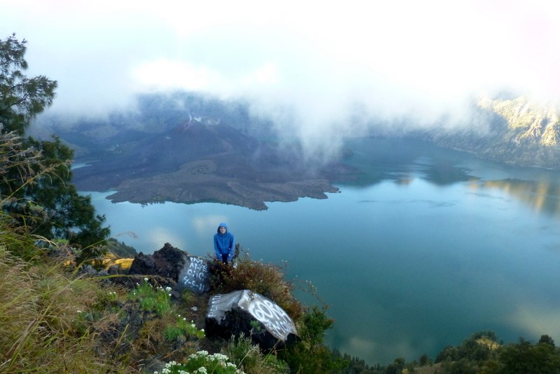 Rinjani volcano in Indonesia | Best volcanoes to hike around the world