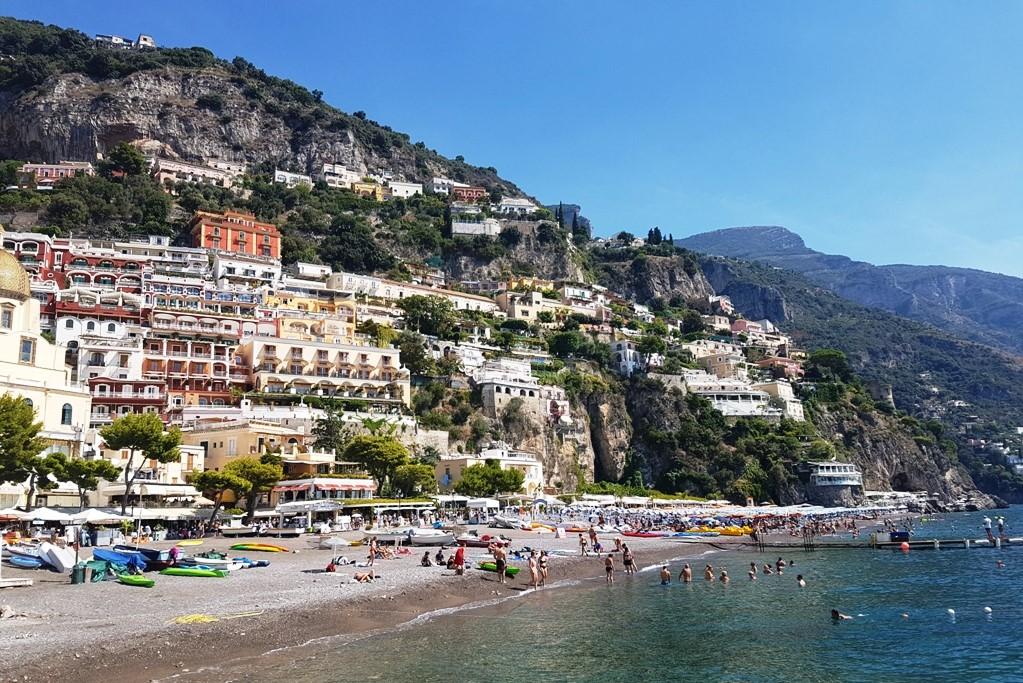 Road trip Europe Amalfi Coast