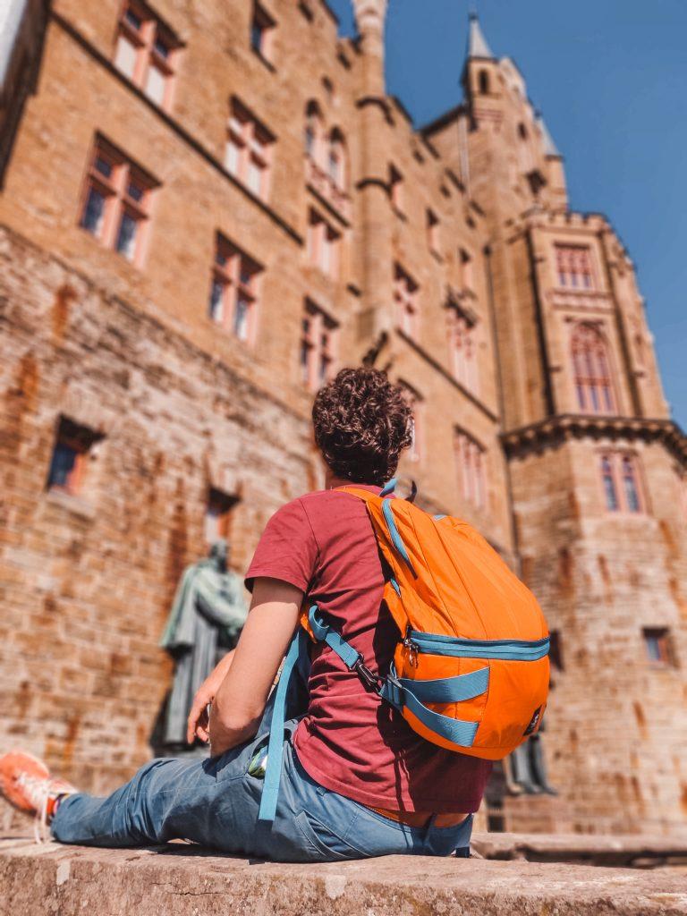 Roadtrip Europa kasteel Duitsland The Orange Backpack