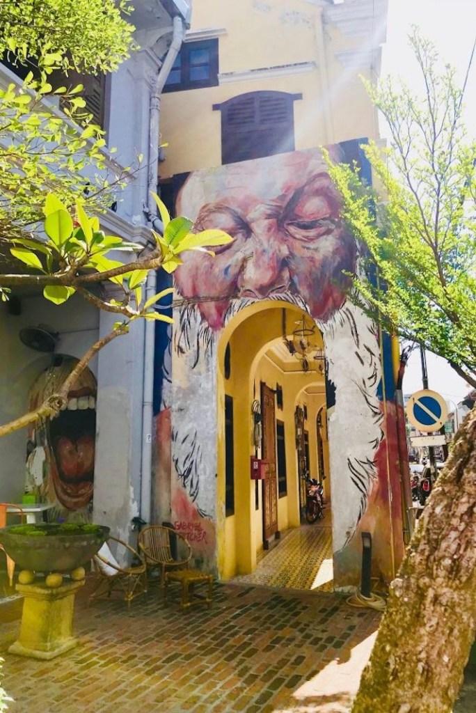 Street art in Penang, Malaysia | George Town murals