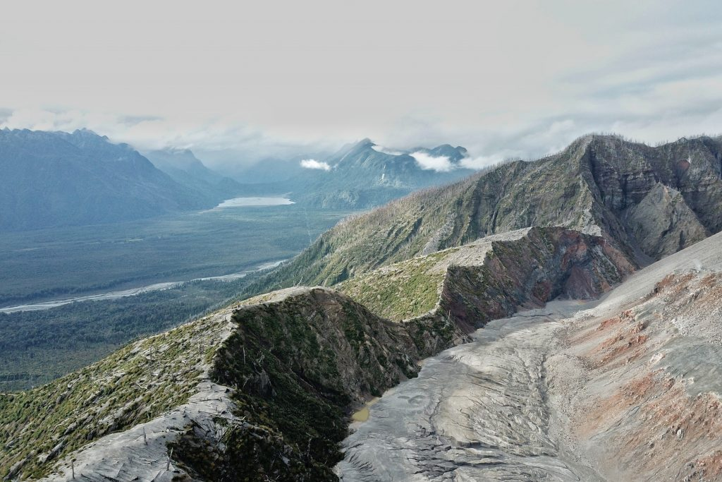 Volcan Chaiten in Chile | Best volcanoes to hike around the world