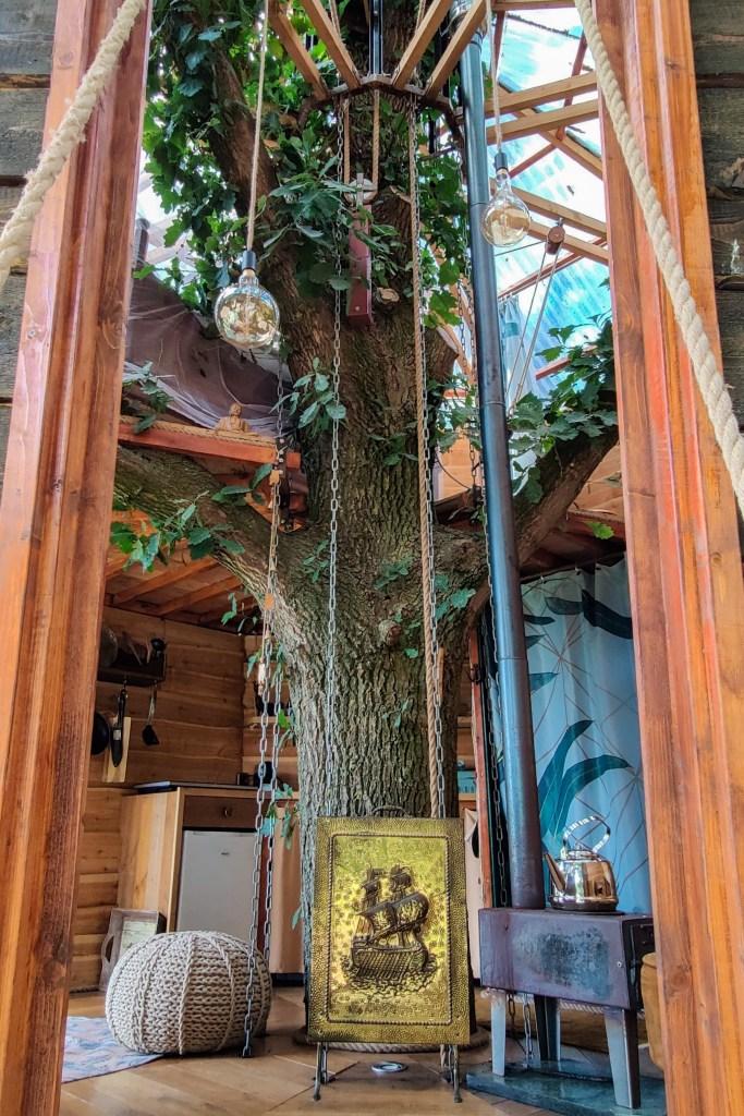 Goldsworthy boomhut in de Achterhoek