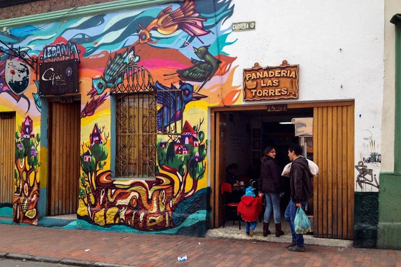 Street art cities Bogota Colombia