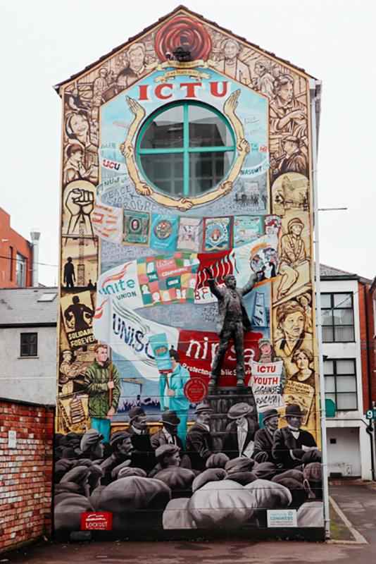 Street art cities: Belfast