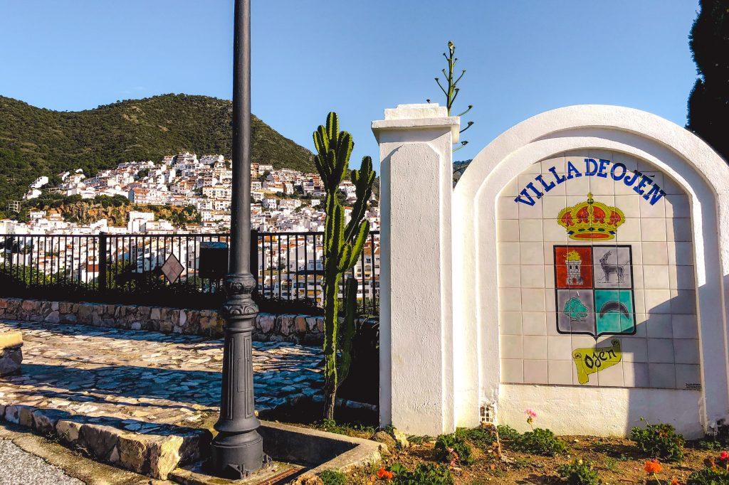 Ojén in Spanje   pueblo blanco in Spanje