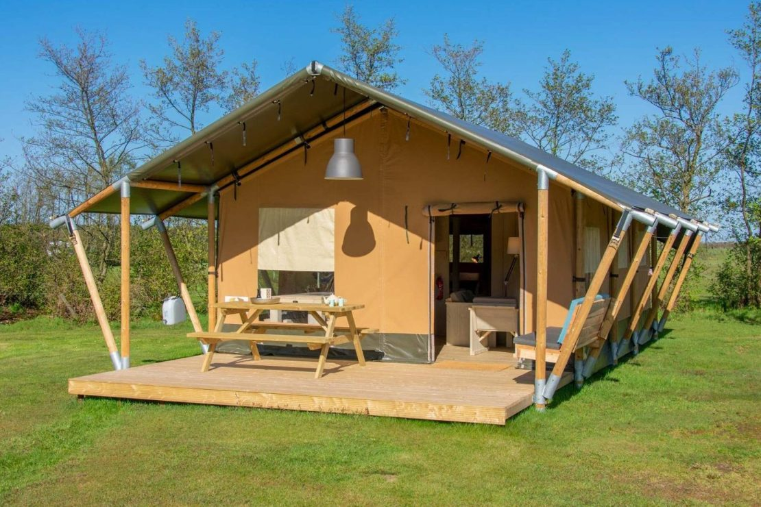 Glamping Safaritent Camping De Kooi