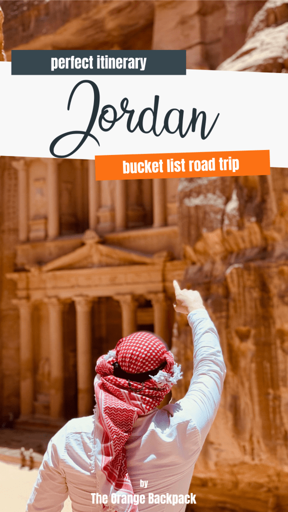 the perfect itinerary for Jordan and Petra