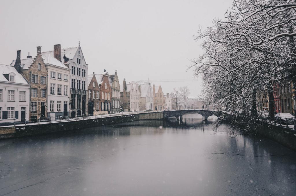 Brugge België Europese stedentrip