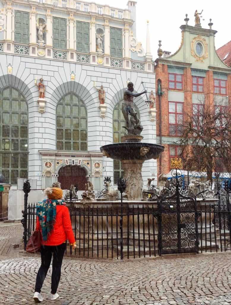 Gdansk winter city trip