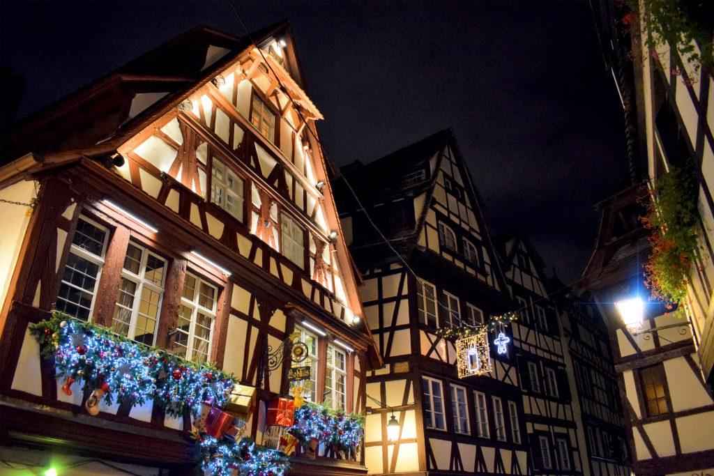Kerstmarkt van Straatsburg