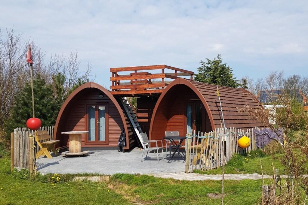Pods Tussen Wal en Strand - Airbnb Ameland