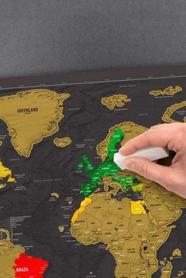 Scratchmap - Beste cadeaus voor reizigers