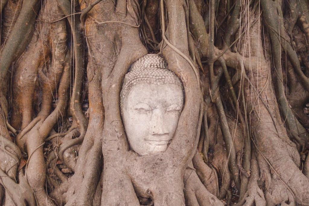 Tempels Thailand in Ayutthaya