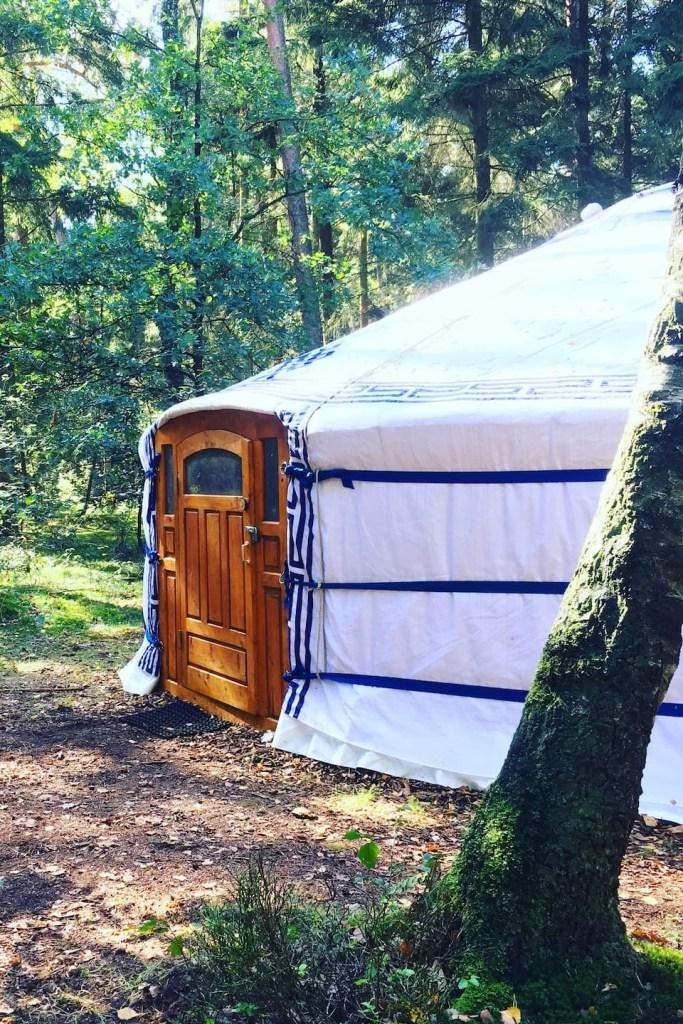 Yurt op Airbnb