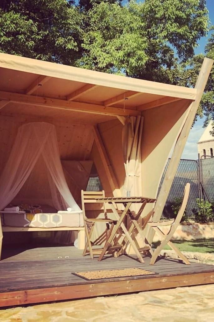 Glamping Airbnb Kroatie Donji Karin