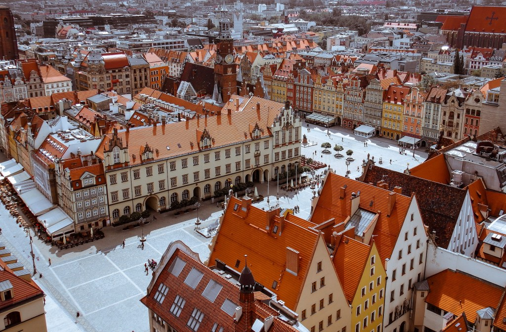 Road trip Wroclaw in Poland