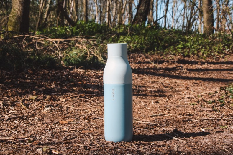 Zelfreinigende en duurzame waterfles Larq review