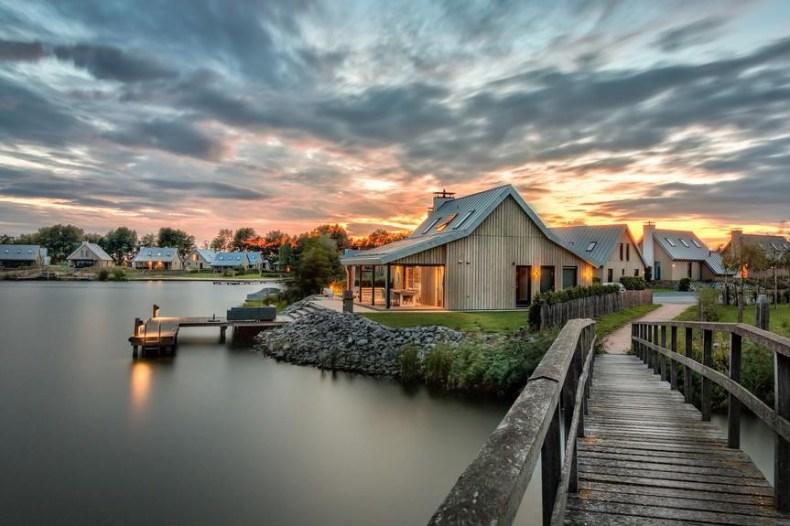Luxe watervilla Waterrijk