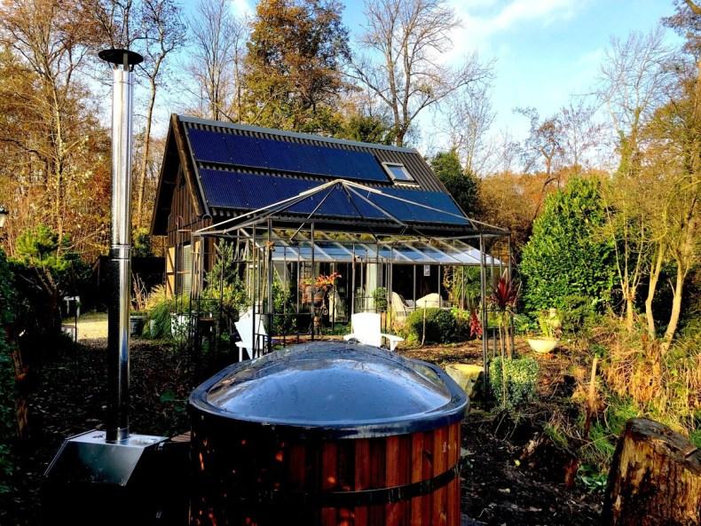 natuurhuisje hottub en orangerie in noord holland