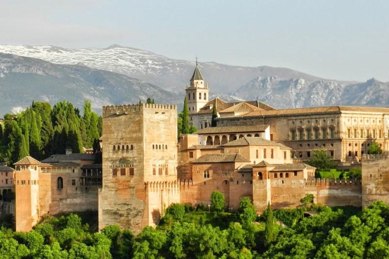 Granada Alhambra Spanje