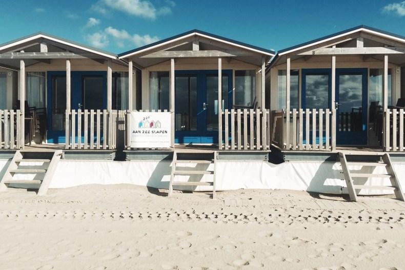 Vakantiehuisjes aan zee