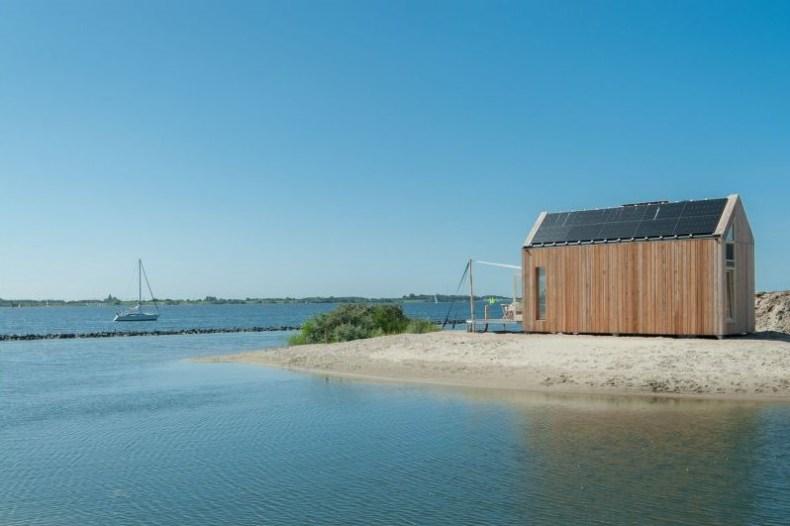 vakantiehuisje aan zee | Greenhuus Ouddorp Grevelingenstrand