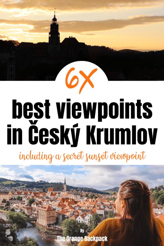 Cesky Krumlov viewpoints