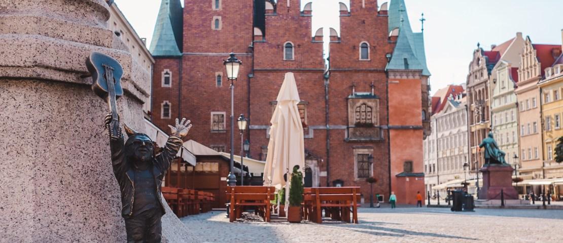 Kabouters in Wroclaw: gnomen spotten in de oude stad