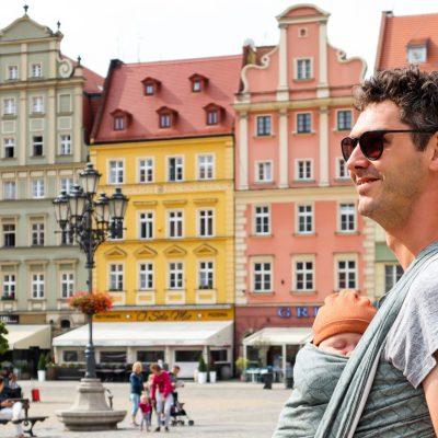 Wroclaw Polen centrale plein