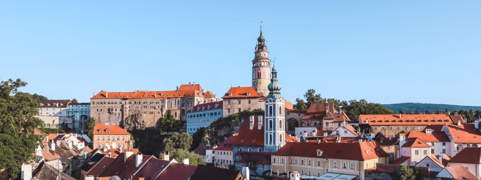 Het kasteel van Český Krumlov