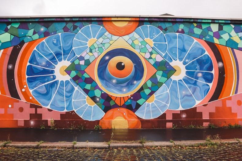 Street art Kassel Germany | Pau Quintanajornet and Sebastian Carreno Gaibisso - Kosmon