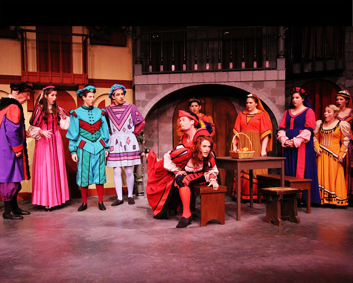Kiss Me, Kate -  Vanguard University in Costa Mesa - Review